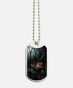 witchpretty_mini poster_12x18-fullbleed Dog Tags