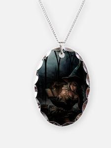 witchpretty_mini poster_12x18- Necklace Oval Charm
