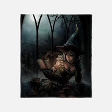 witchpretty_mini poster_12x18-fullbl Throw Blanket