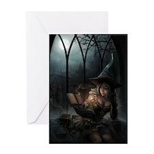 witchpretty_mini poster_12x18-fullbl Greeting Card