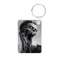 screamingzombievert_mini p Keychains