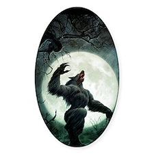 werewolf_mini poster_12x18-fullblee Decal