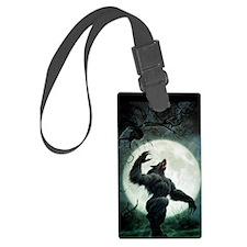 werewolf_mini poster_12x18-fullb Luggage Tag