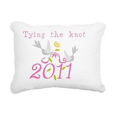 tyingknot2011 Rectangular Canvas Pillow