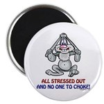 All Stressed Out! Magnet