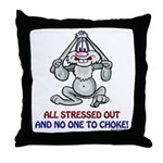 All Stressed Out! Throw Pillow