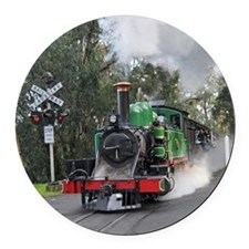 Puffing Billy at Selby Round Car Magnet