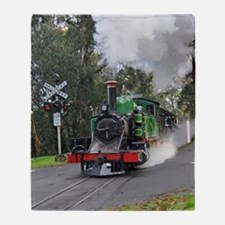 Puffing Billy at Selby Throw Blanket