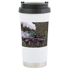Puffing Billy on the Trestle Br Travel Mug