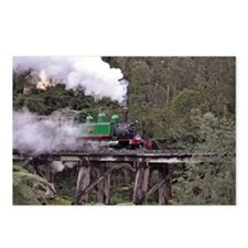 Puffing Billy on the Tres Postcards (Package of 8)