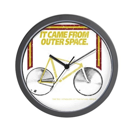 2-outerspace Wall Clock