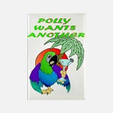 POLLYWANTSANOTHER Rectangle Magnet