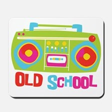 Old School Boom Box Mousepad