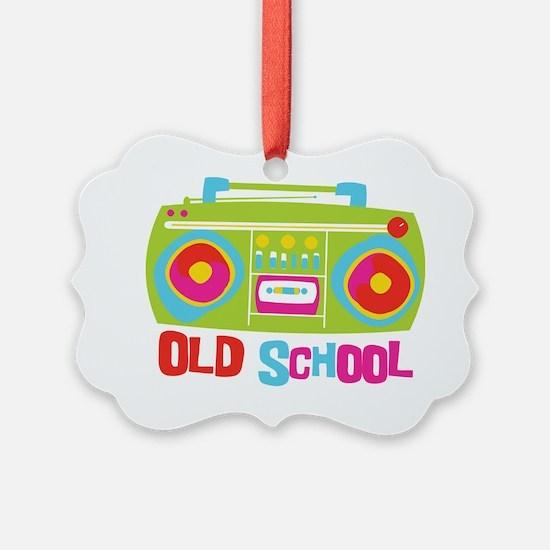 Old School Boom Box Ornament