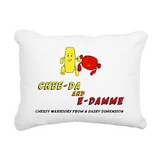 cheese Rectangular Canvas Pillow