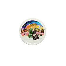 XMusic-Brindle French Bulldog Mini Button