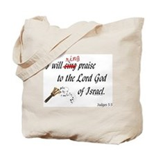 Ring Praise Tote Bag