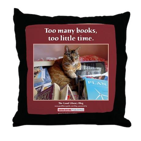 Magellan tote front Throw Pillow