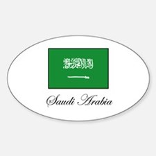 Saudi Arabia - Flag Oval Decal