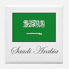 Saudi Arabia - Flag Tile Coaster