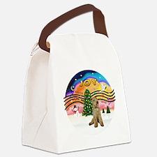 XMusic2 - Lakeland Terrier Canvas Lunch Bag