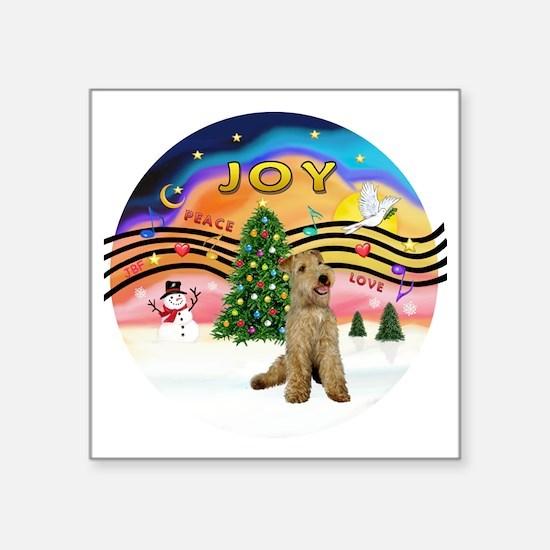 "XMusic2 - Lakeland Terrier Square Sticker 3"" x 3"""