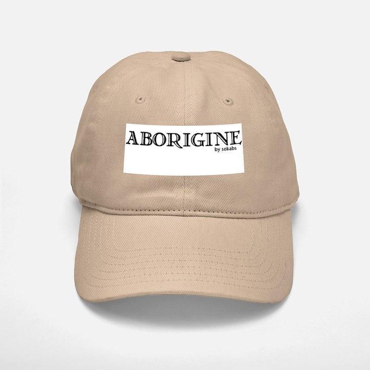 Aborigine Logo Baseball Baseball Cap