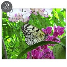 Paper Kite Butterfly and Orchids Puzzle