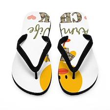 3-armywifechick Flip Flops