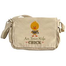 AirForceWifeChick Messenger Bag