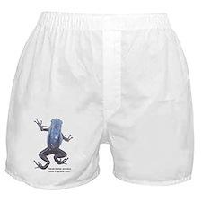 2-azureus labeled black Boxer Shorts