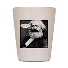 2-Karl Marx Shot Glass