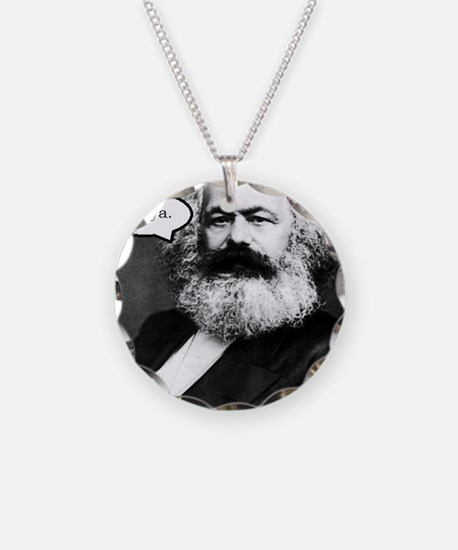 2-Karl Marx Necklace