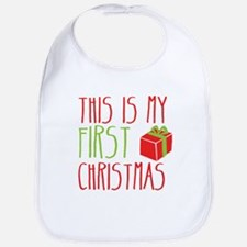 This is my First Christmas baby newborn Xmas desig