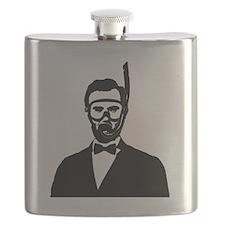 Scuba Abe Flask