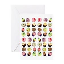 2-CupcakesApron Greeting Card