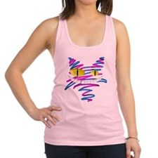 MT - Cheshire 2 - FINAL Racerback Tank Top