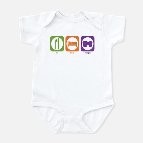 Eat Sleep Bongos Infant Bodysuit