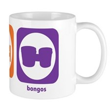 Eat Sleep Bongos Mug