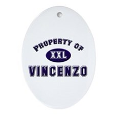 My heart belongs to vincenzo Oval Ornament
