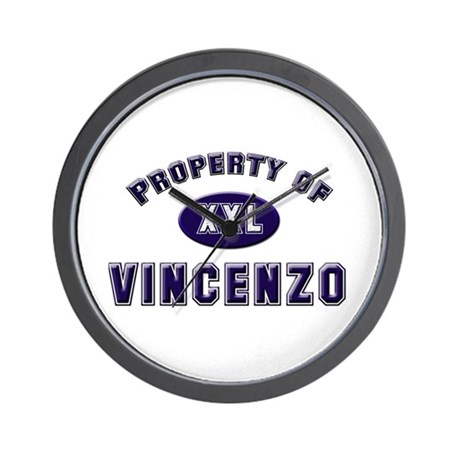 My heart belongs to vincenzo Wall Clock