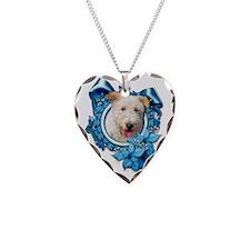 Blue_Snowflake_Wire_Fox_Terri Necklace