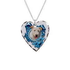 Blue_Snowflake_Wire_Fox_Terri Necklace Heart Charm