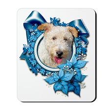 Blue_Snowflake_Wire_Fox_Terrier_Hailey Mousepad