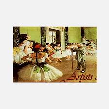 dance class calendar title Rectangle Magnet