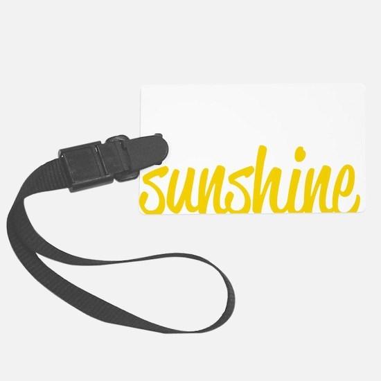 miss sunshine Luggage Tag