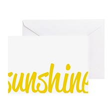 miss sunshine Greeting Card