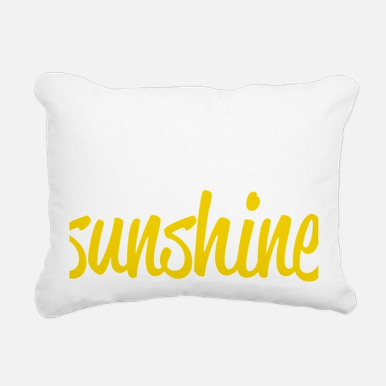 miss sunshine Rectangular Canvas Pillow