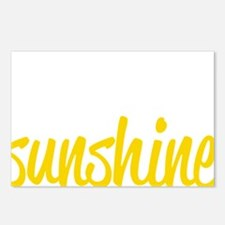 miss sunshine Postcards (Package of 8)