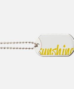 miss sunshine Dog Tags